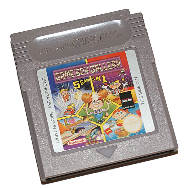 Gameboy Gallery - 5 games in 1