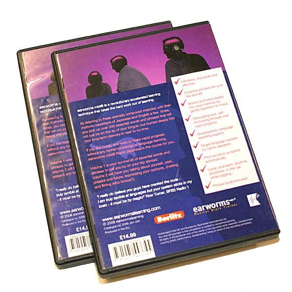 Rapid Japanese Vol 1 & 2 CD