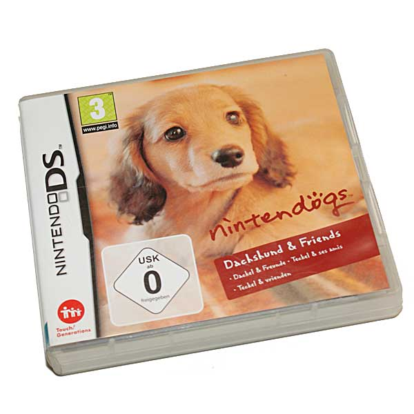 Nintendogs Dachshund & Friends