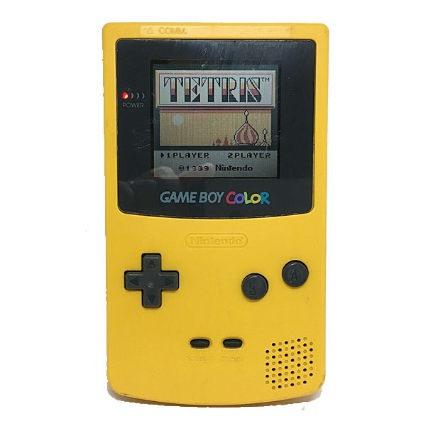 Gameboy Color, Keltainen