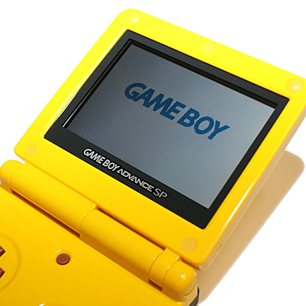 Gameboy Advance SP, Pikachu Special Edition