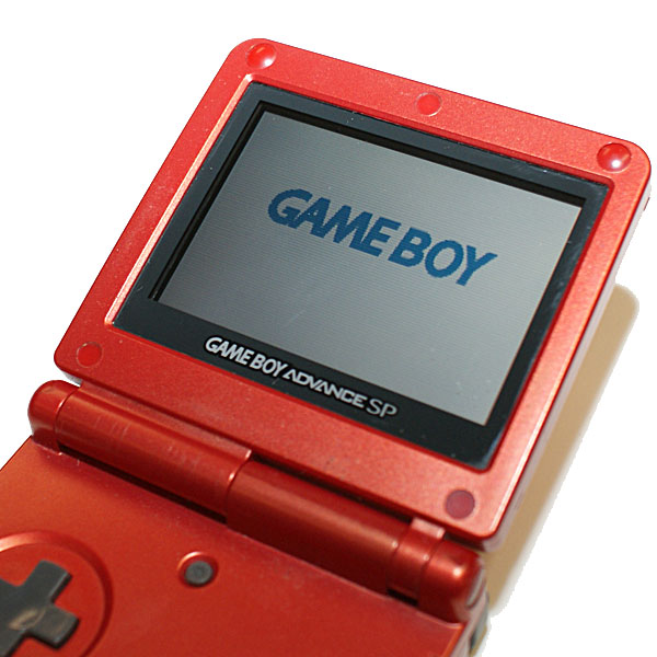 Gameboy Advance SP, Punainen