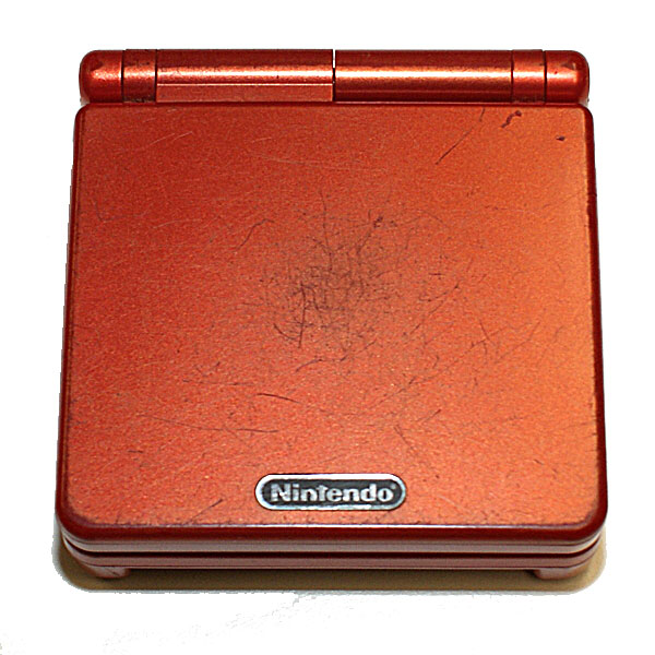 Gameboy Advance SP, Punainen