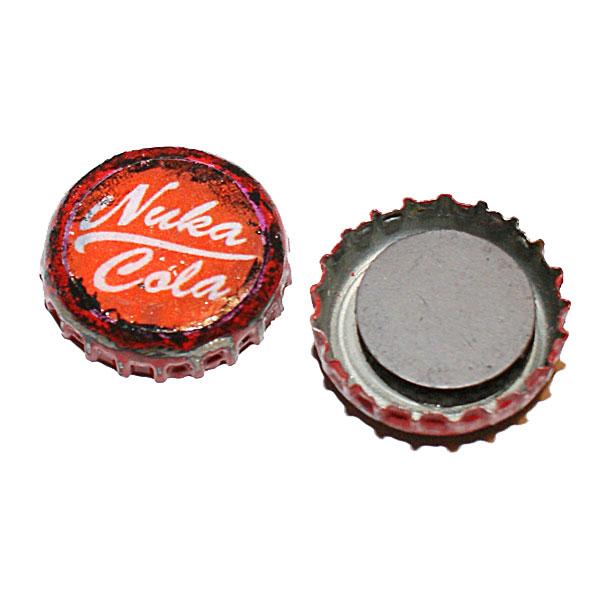 Nuka Cola - korkit (jääkaappimagneetti)
