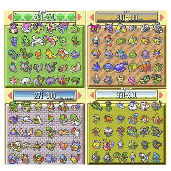 Pokémon Ruby - Täysi Pokédex