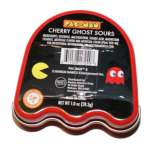 Pac-Man Cherry Ghost Sours