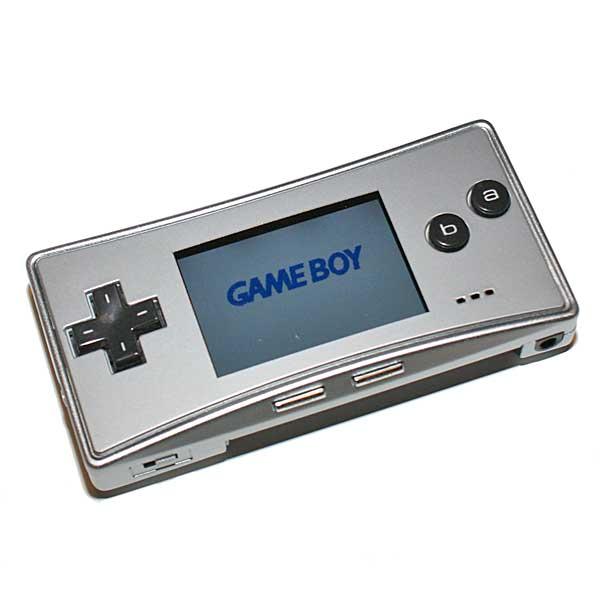 Gameboy Micro, Hopea, Paketissa
