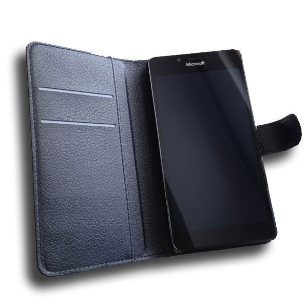Lumia 950 nahkainen suojakuori