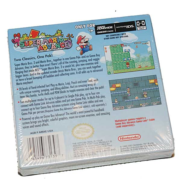 Super Mario Advance, Avaamaton