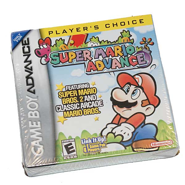 Super Mario Advance, Avaamaton