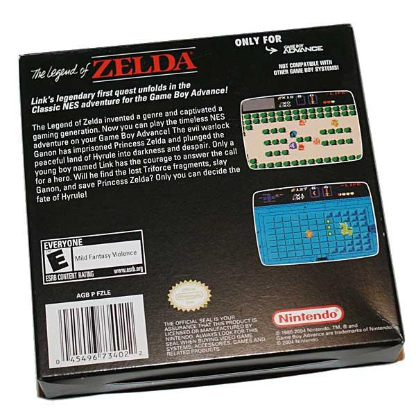 The Legend of Zelda NES Classics paketissa