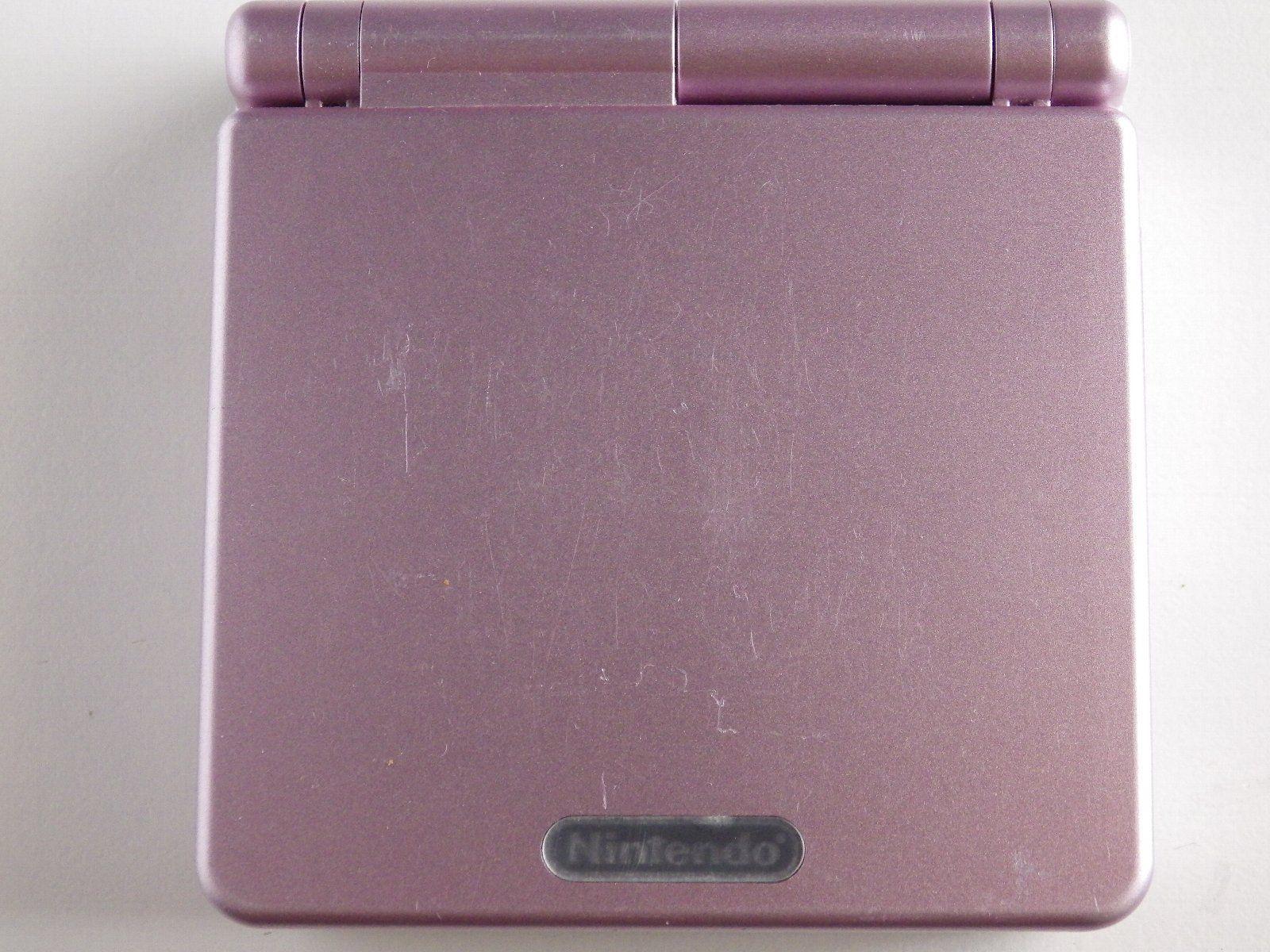 Gameboy Advance SP, Pinkki