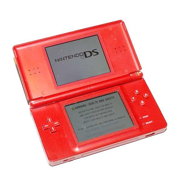 Nintendo DS Lite, Punainen