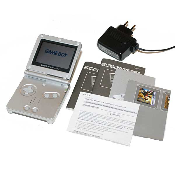 Gameboy Advance SP, Hopea